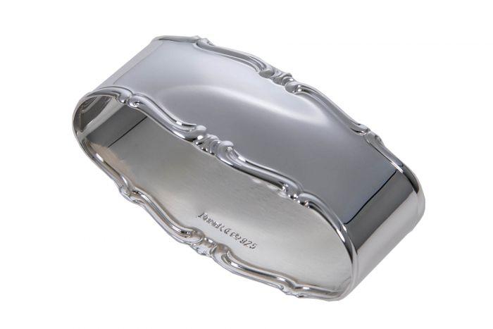 Silber Serviettenring Barock