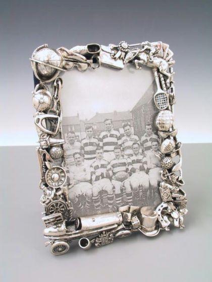 Der Herrenrahmen 10x15 Silber