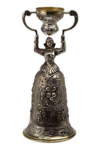 Silber Hochzeitsbecher Brautbecher 15,5 cm