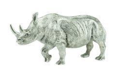 Nashorn aus Sterling-Silber 925/000
