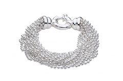 Armband Sterling-Silber 925/000 mit Kugelketten