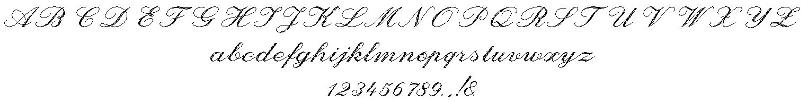 Gravurschrift Script 4L